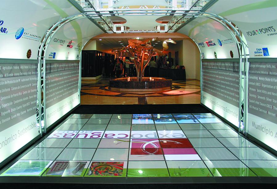 Futuristic Flooring Exhibitor Magazine