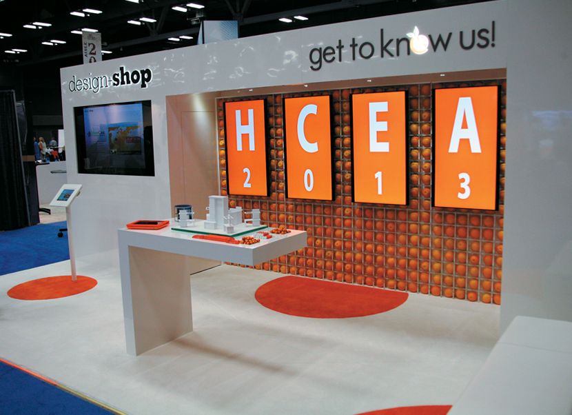 Exhibition Stand Visuals : You can have it small exhibitor magazine