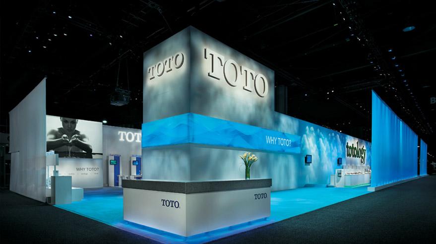Exhibition Booth Design Award : Throne rooms exhibitor magazine