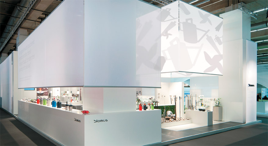 Exhibition Booth Inspiration : Shadow play exhibitor magazine