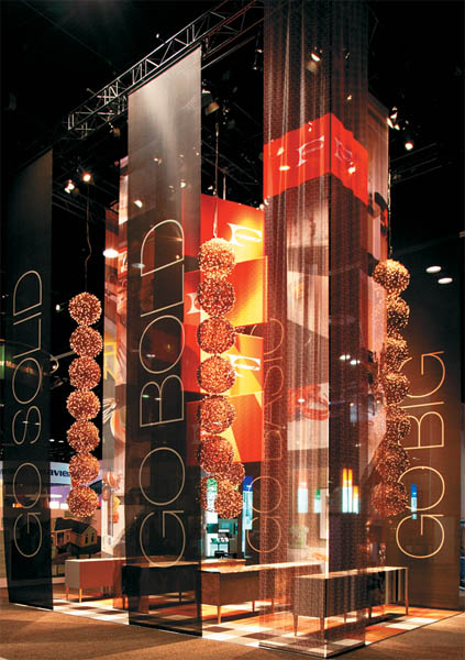 Exhibition Booth Banners : Material world exhibitor magazine
