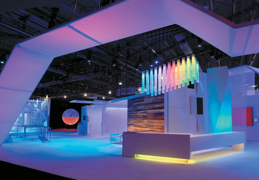 Modern Exhibition Stand Lighting : City of lights exhibitor magazine