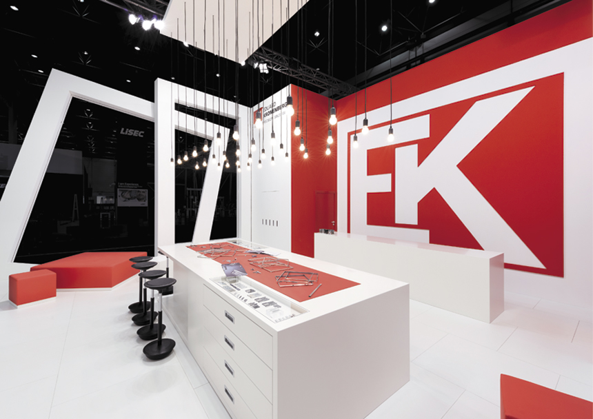 Exhibition Stand Design Articles : Hall of frame exhibitor magazine