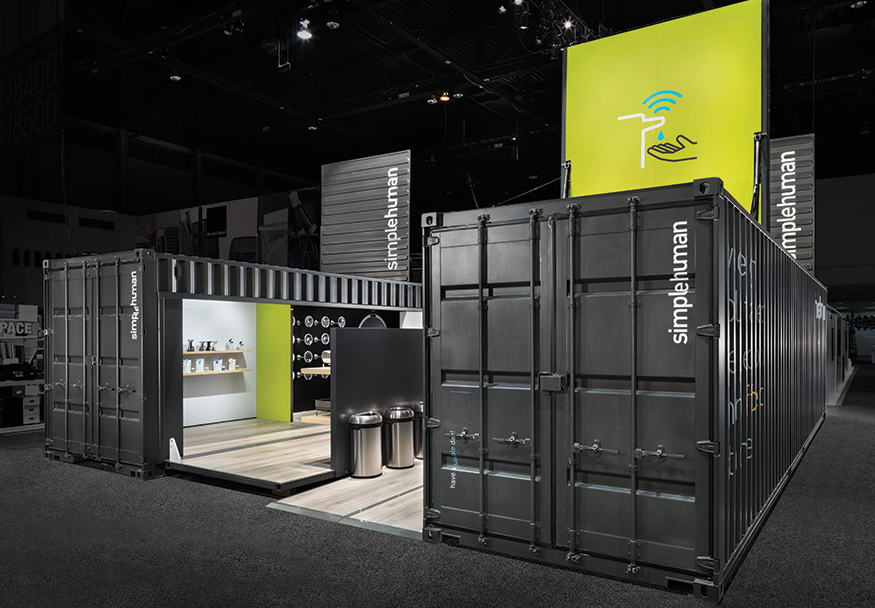 Exhibition Booth Structure : The container store exhibitor magazine