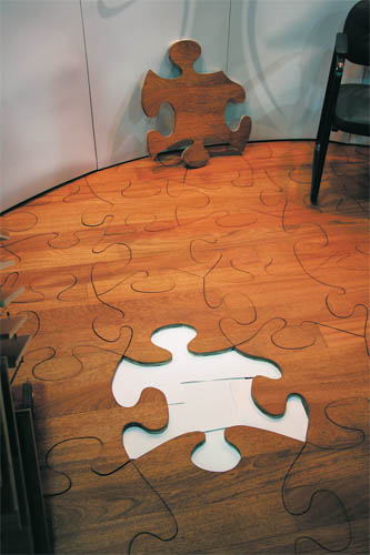 November 2010 exhibitor magazine for Wood floor pieces