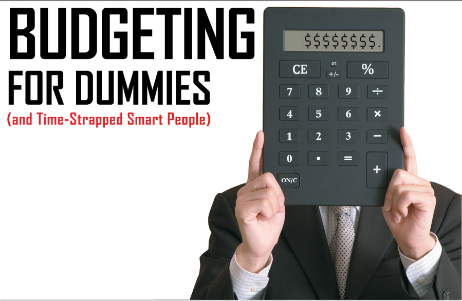 Worksheets Budgeting For Dummies Worksheet budgeting for dummies exhibitor magazine and within 20 minutes or so you should have a ballpark budget your boss enough time left in one hour window to kick back close your