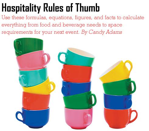 Hospitality Rules Of Thumb Exhibitor Magazine