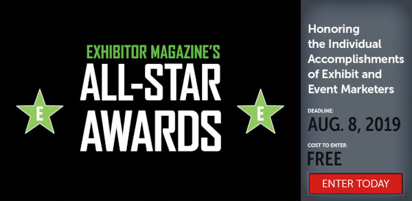 Enter EXHIBITOR�Magazine's�All-Star Awards