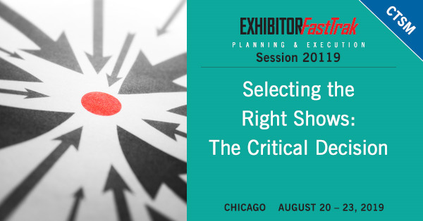 Selecting the Right Shows: The Critical Decision