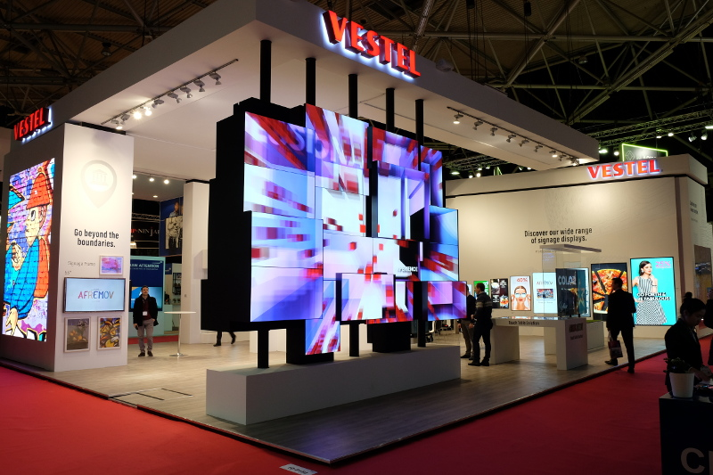 Exhibition Stand Lighting Xl : Ise announces 2018 stand design awards finalists