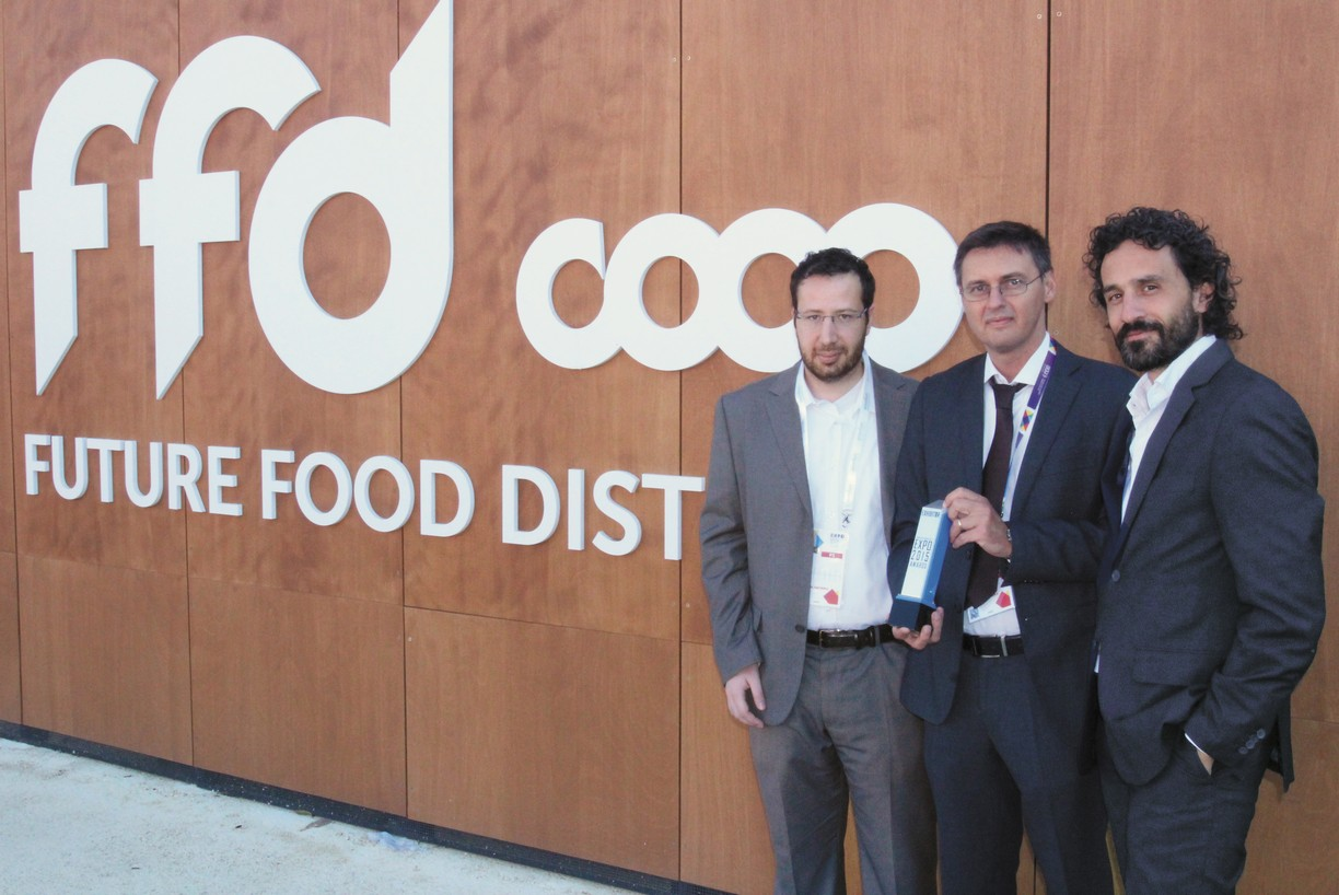 "Winner — Coop Italia Pavilion ""Supermarket of the Future"""