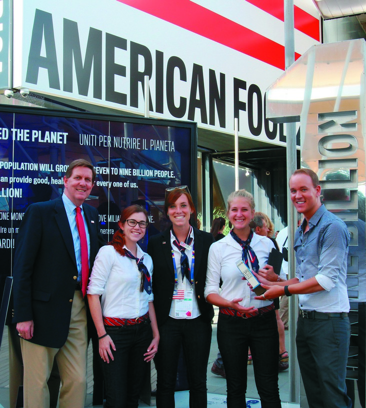 "Winner — USA Pavilion ""Vertical Farm"""