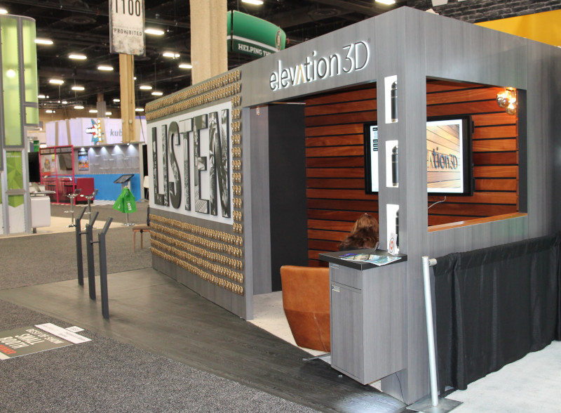 Elevation3D Wins 2019 Best of Show Small Booth Award at