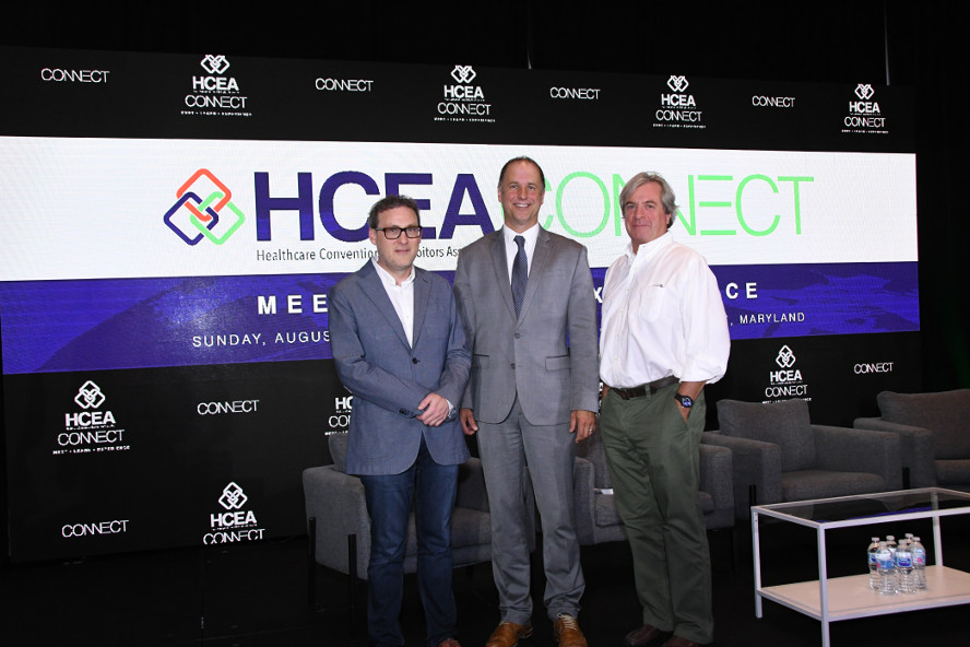 HCEA and EXHIBITOR representatives meet at HCEAConnect