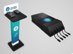 The Method Mobile Cell Phone Charging Station Can Be Configured As A Standing Wall Mounted Tabletop Or Stand Alone Unit This Is Unique Because