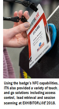 ITN International Issues a New NFC-enabled Event Badge