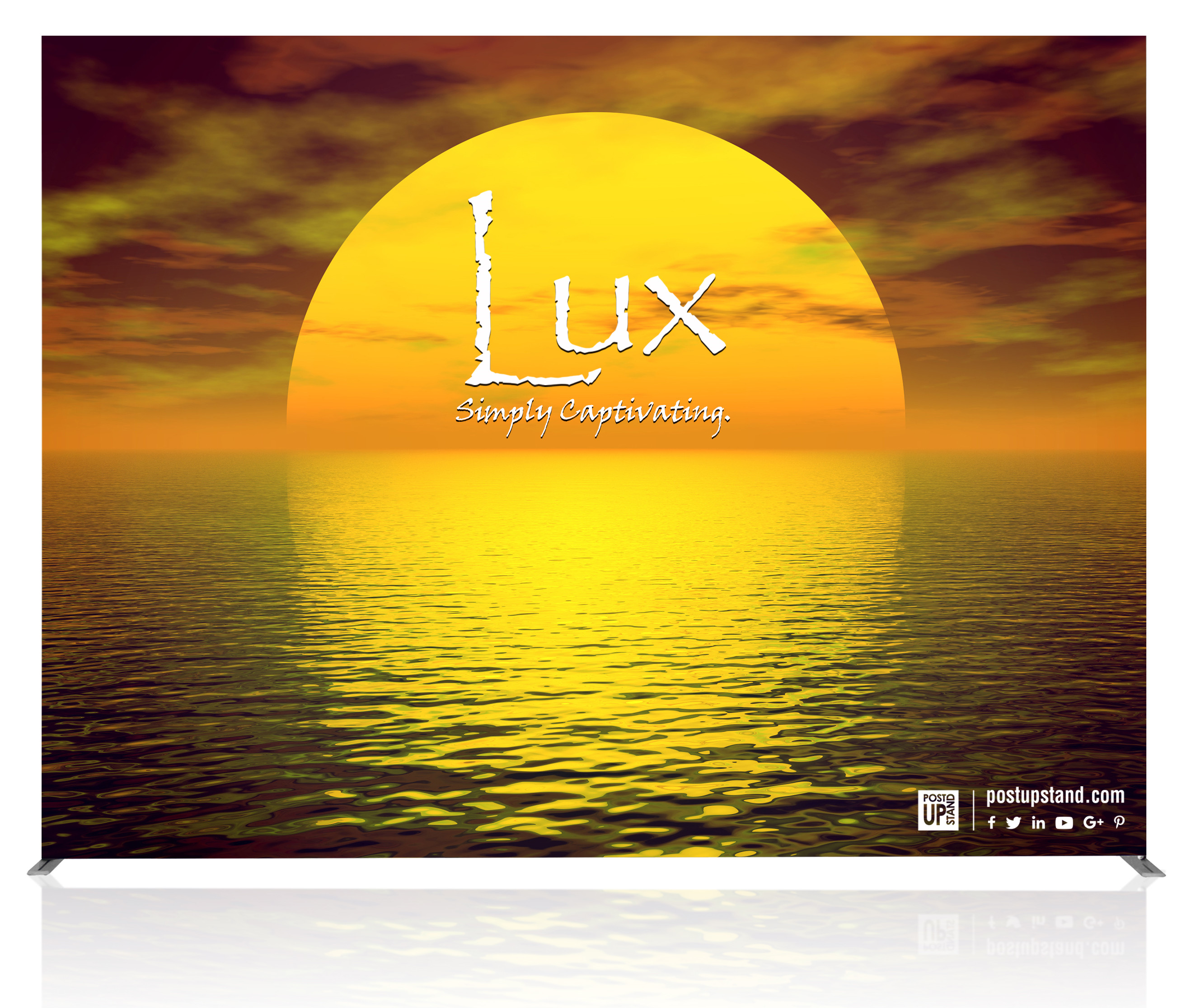 LUX is an LED Backlit SEG Pop Up display