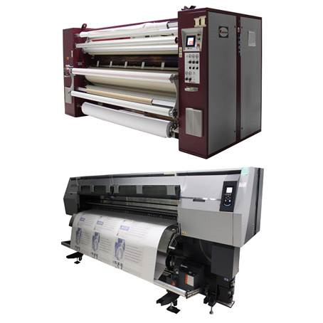 Post-Up Stand Adds Fifth Dye Sublimation Printing System