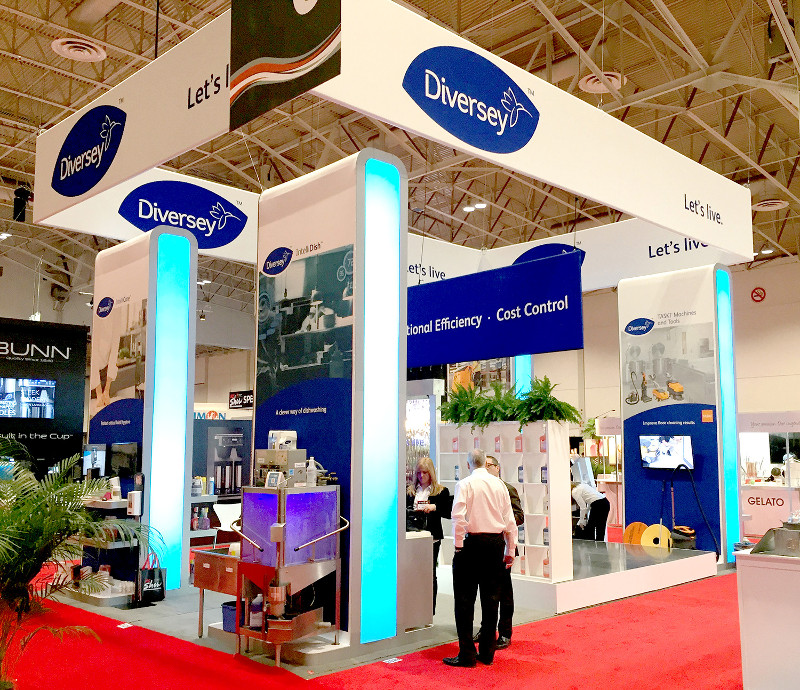 TradeTec Client Wins Best Large Booth Award at Restaurants